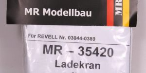 Ladekran für MAN 10t milgl.1t ( Revell ) – 1/35 – MR Modellbau  — #MR-35420
