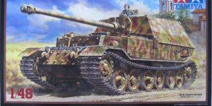 """German Heavy Tank Destroyer """"Elefant"""" im Maßstab 1:48 von Tamiya 32589"""