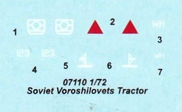 Trumpeter-07110-Soviet-Voroshilovets-Tractor-27 Soviet Artillery Tractor Voroshilovets von Trumpeter 1:72