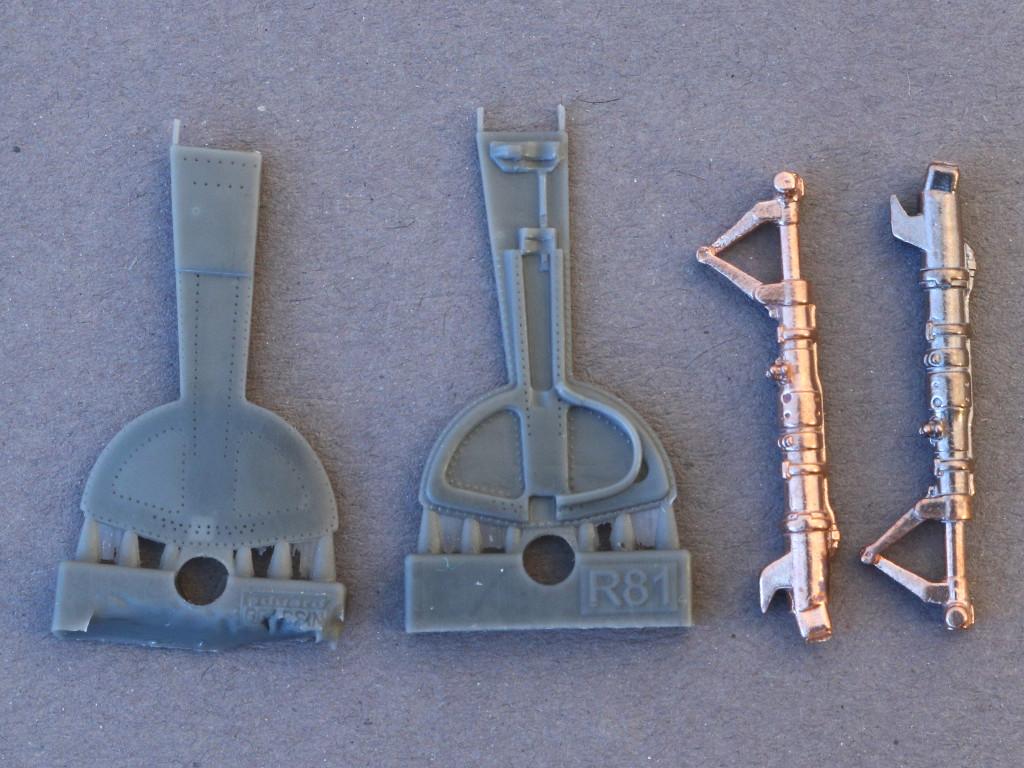 1-6 Diverses Zubehör für die Bf 109G Serie von Eduard in 1:48