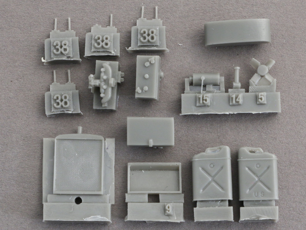 11 U.S. Power Unit M5 plus model 378 (1:35)
