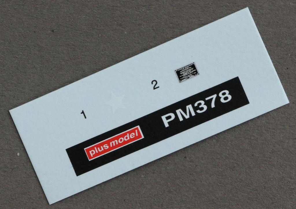 3 U.S. Power Unit M5 plus model 378 (1:35)