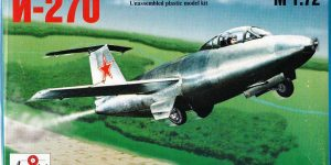 Raketenjäger MiG I-270 von A Model ( # 7212)