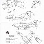 A-Model-7212-I-270-8-150x150 Raketenjäger MiG I-270 von A Model ( # 7212)