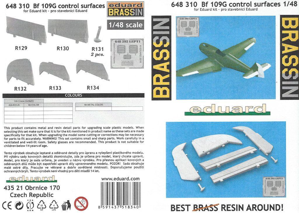 Anleitung1-3-1024x730 Diverses Zubehör für die Bf 109G Serie von Eduard in 1:48