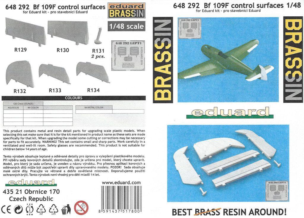 Anleitung1-6-1024x734 Diverses Zubehör für die Bf 109F von Eduard in 1:48