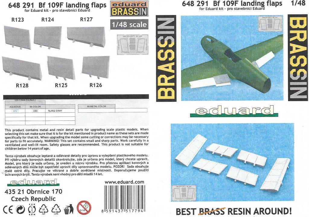Anleitung1-7-1024x721 Diverses Zubehör für die Bf 109F von Eduard in 1:48