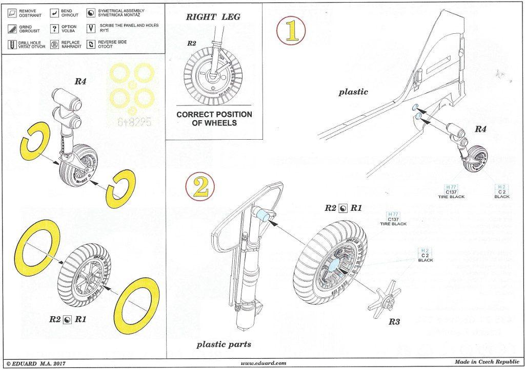 Anleitung2-10-1024x723 Diverses Zubehör für die Bf 109 G-2 von Eduard in 1:48