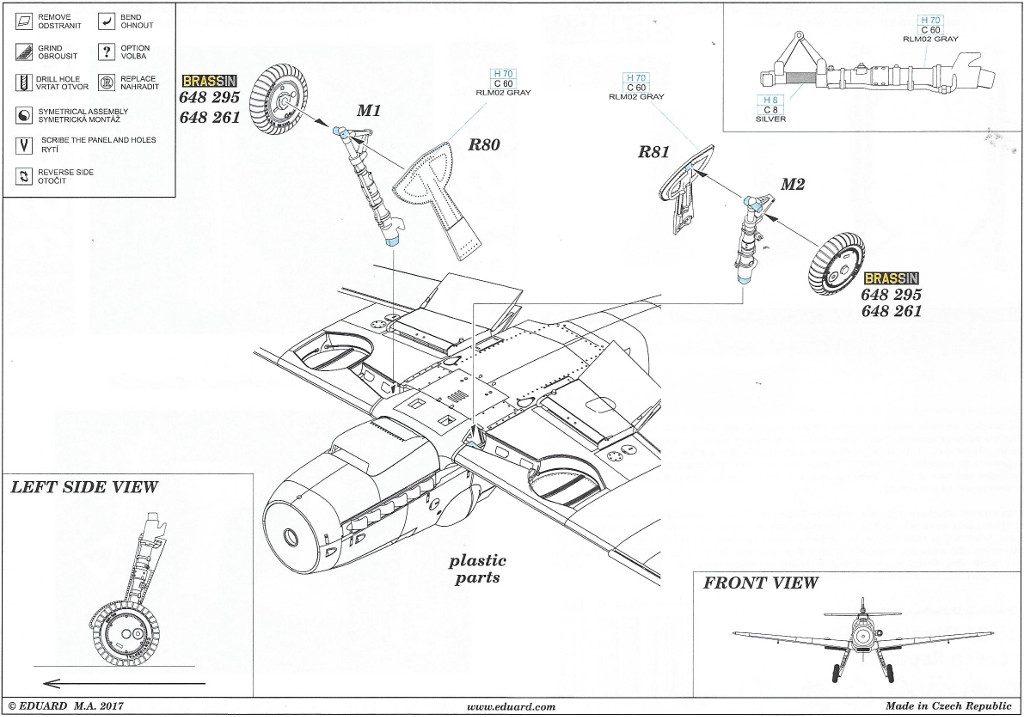 Anleitung2-4-1024x717 Diverses Zubehör für die Bf 109G Serie von Eduard in 1:48