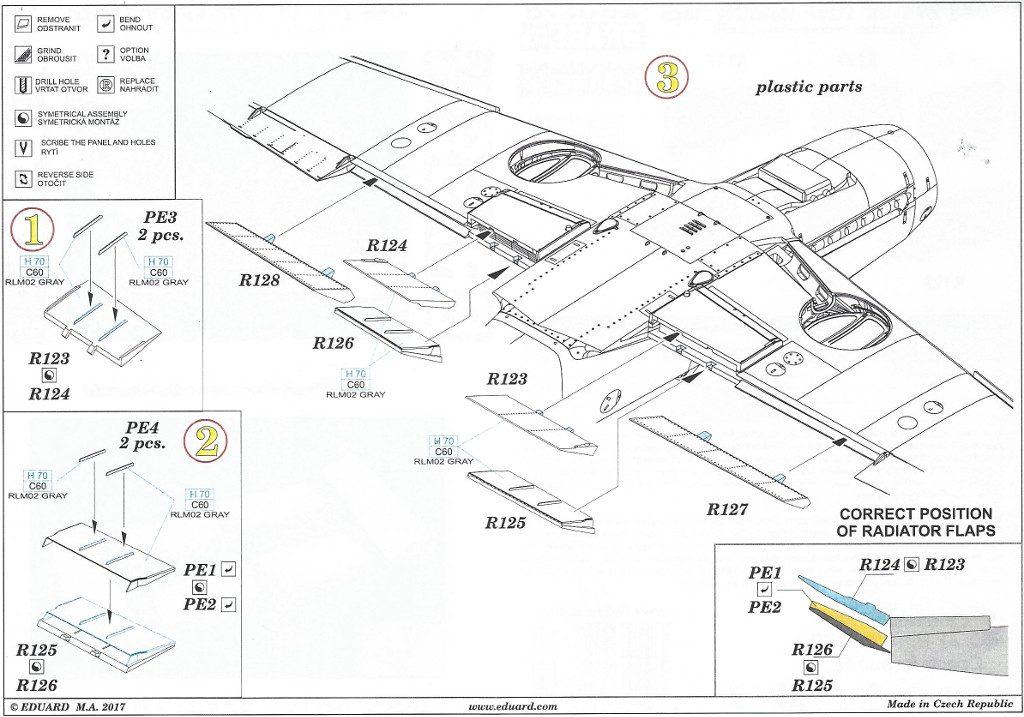 Anleitung2-7-1024x717 Diverses Zubehör für die Bf 109F von Eduard in 1:48