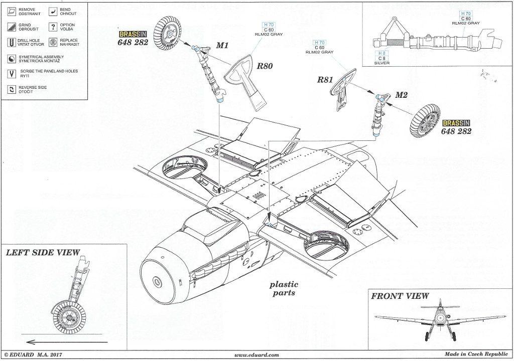 Anleitung2-8-1024x720 Diverses Zubehör für die Bf 109F von Eduard in 1:48