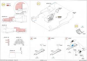 Anleitung6-300x213 Bf 109F Engine and Fuselage Guns Eduard 1:48 (648 300)