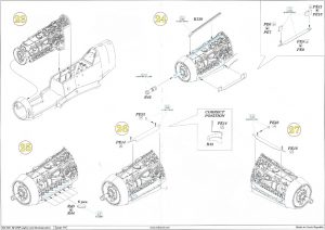 Anleitung7-300x212 Bf 109F Engine and Fuselage Guns Eduard 1:48 (648 300)