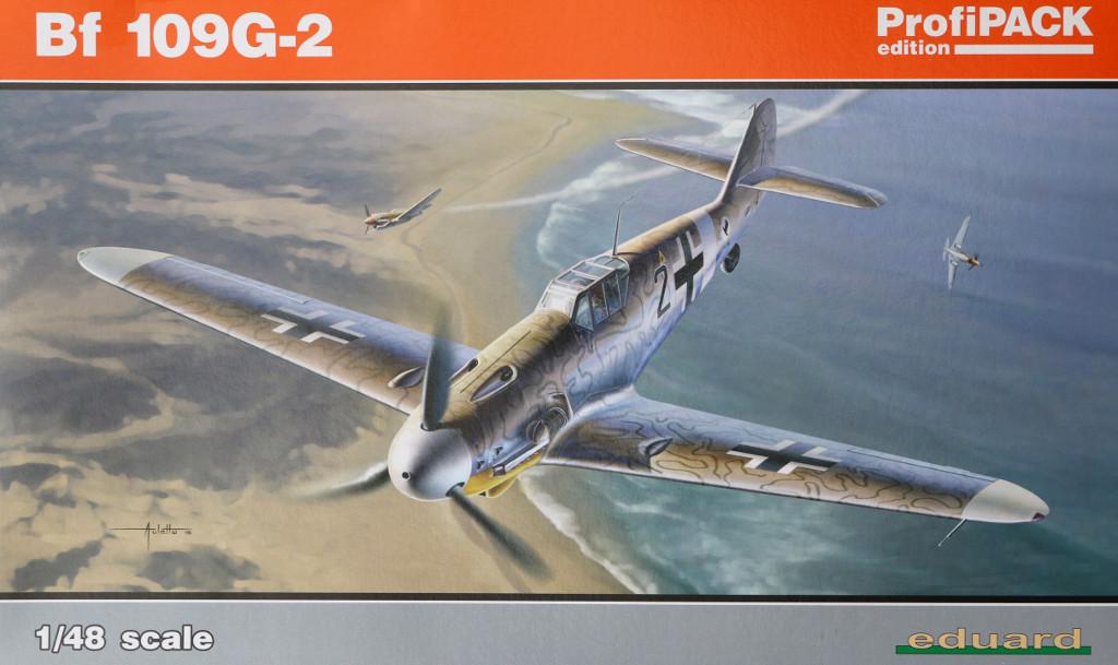 Box-4 Bf 109G-2 1:48 Eduard ProfiPACK (82116)