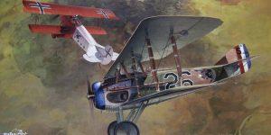 """EduArt-Edition """"DAWN PATROL"""" – Spad XIII & Fokker D.VII – Eduard 1/48 — #11102X"""