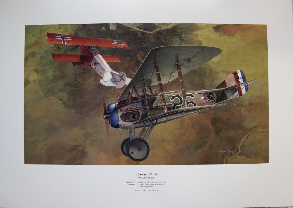 "EduArt_Dawn_Patrol_07 EduArt-Edition ""DAWN PATROL"" - Spad XIII & Fokker D.VII - Eduard 1/48 --- #11102X"