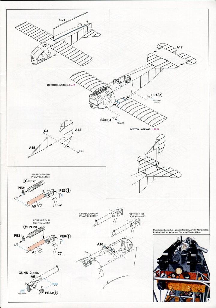 "EduArt_Dawn_Patrol_27 EduArt-Edition ""DAWN PATROL"" - Spad XIII & Fokker D.VII - Eduard 1/48 --- #11102X"