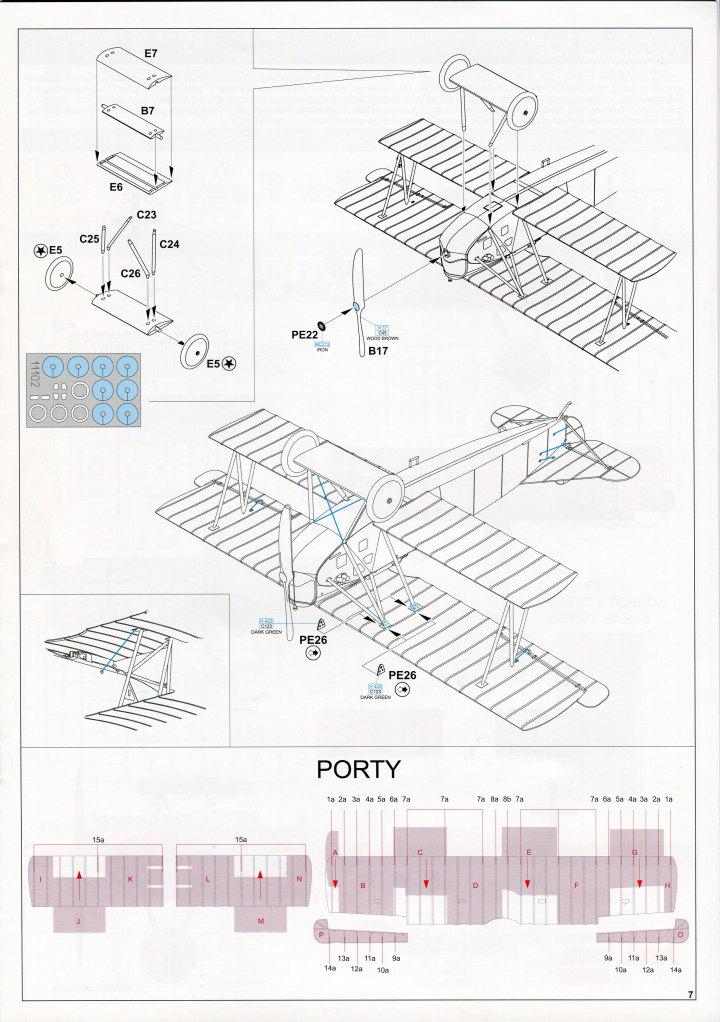 "EduArt_Dawn_Patrol_29 EduArt-Edition ""DAWN PATROL"" - Spad XIII & Fokker D.VII - Eduard 1/48 --- #11102X"