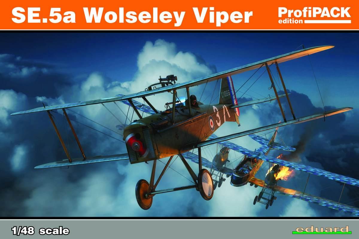 Eduard-82131-SE.5a-Wolseley-Viper-Deckelbild Die neue SE.5a Wolseley Viper von Eduard in 1:48 (# 82131 )
