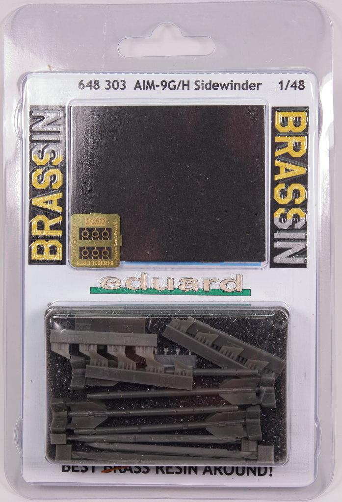 Eduard_9G_H_Sidewinder_12 AIM-9G/H Sidewinder - Eduard BRASSIN 1/48 --- #648303