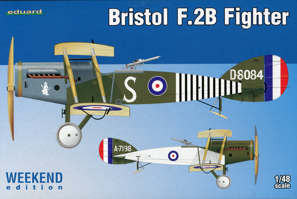 Eduard_Bristol-F.2B-Weekend-201716 Bristol F.2B - Eduard Weekend Edition - 1/48 --- #8489