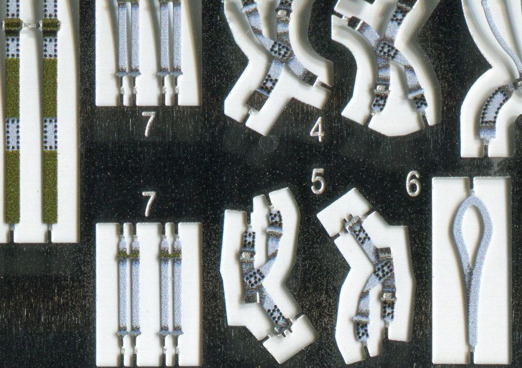 Eduard_F-4_Seatbelts-Steel_03 F-4 Phantom II Seat Belts grey - Eduard STEEL - 1/48 --- #49112