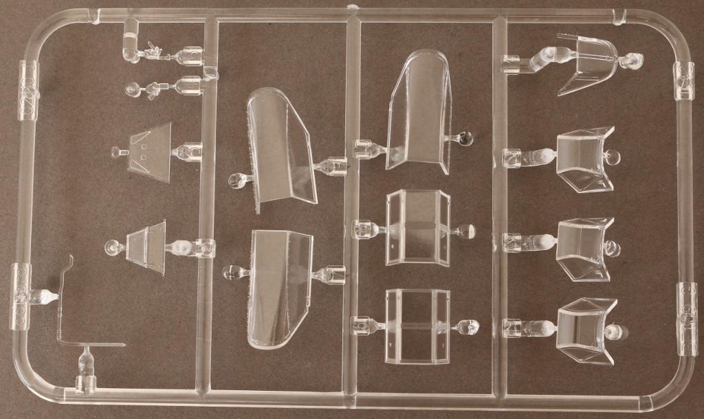 Klarsichtteile-2 Bf 109G-2 1:48 Eduard ProfiPACK (82116)