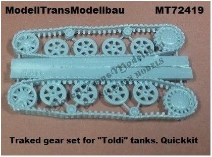 ModellTrans-MT-72419-Toldi-tracks-for-IBG-Quickkit Neuheiten von Modelltrans für die EuroModelExpo am 25./26. März