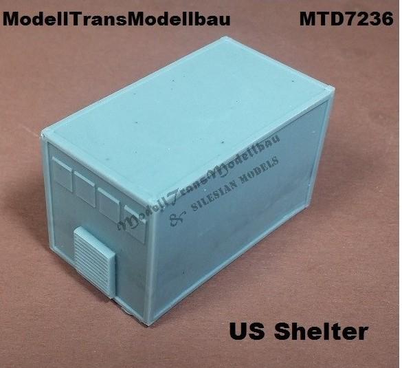 ModellTrans-MTD-7236-US-Shelter Neuheiten von Modelltrans für die EuroModelExpo am 25./26. März