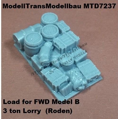 ModellTrans-MTD-7237-Load-for-FWD-B-3-ton-Lorry Neuheiten von Modelltrans für die EuroModelExpo am 25./26. März