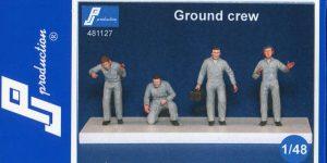 Ground Crew – PJ Production – 1/48 — #481127