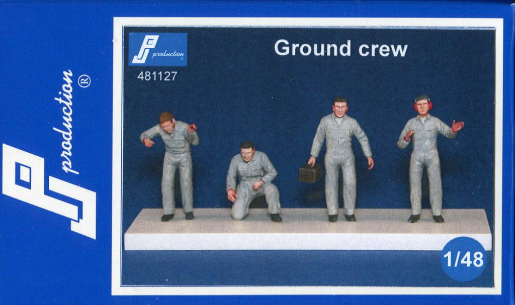 PJ_Ground_Crew_06 Ground Crew - PJ Production - 1/48 --- #481127