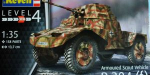 Armoured Scout Vehicle P 204 (f) von Revell ( 03259)