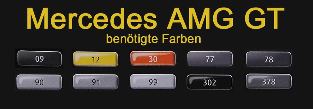 Revell-07028-Mercedes-AMG-17 Mercedes AMG GT in 1:24 von Revell