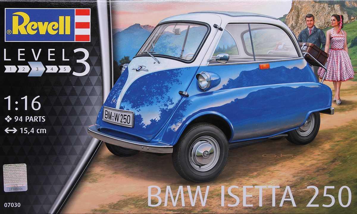 Revell-07030-BMW-Isetta-12 BMW Isetta 250 im Maßstab 1:16 von Revell