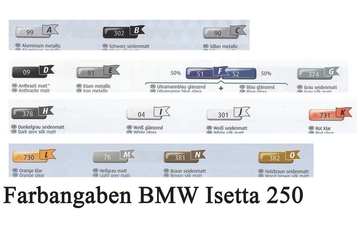 Revell-07030-BMW-Isetta-2 BMW Isetta 250 im Maßstab 1:16 von Revell