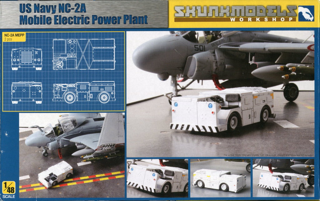 Skunk_Power_Plant_10 NC-2A MOBILE ELECTRIC POWER PLANT - Skunkmodels Workshop - 1/48 --- #48021
