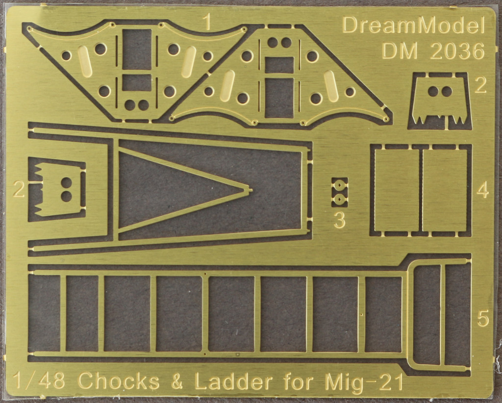 1 Ladder for Mig-21 Dream Model 1:48 (DM 2036)
