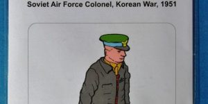Soviet Air Force Colonel Korean War 1951 von Aerobonus 1:48