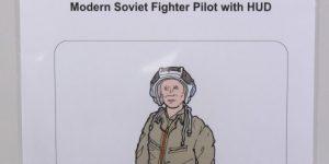 Modern Soviet Fighter Pilot with HUD – aerobonus 1/48  —  #480 180