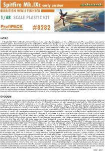 Anleitung01-209x300 Spitfire Mk. IXc (early version) Eduard ProfiPACK 1:48 (#8282)