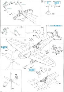 Anleitung10-209x300 Spitfire Mk. IXc (early version) Eduard ProfiPACK 1:48 (#8282)
