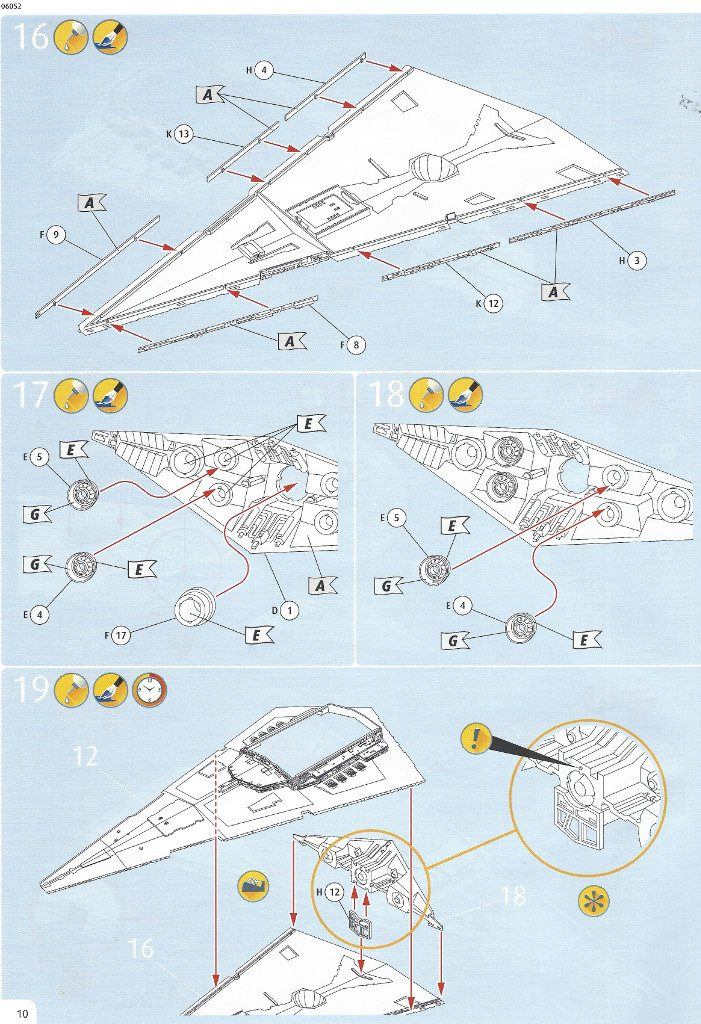 Anleitung10-3-701x1024 Imperial Star Destroyer Revell 1:2700 (#06052)