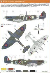 Spitfire Mk Ixc Early Version Eduard Profipack 1 48 8282 Modellbau Für Alle Mit Spaß Am Hobby