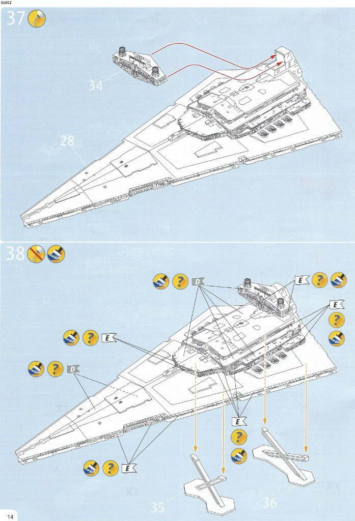Anleitung14-1-697x1024 Imperial Star Destroyer Revell 1:2700 (#06052)