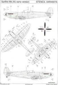Anleitung16-204x300 Spitfire Mk. IXc (early version) Eduard ProfiPACK 1:48 (#8282)