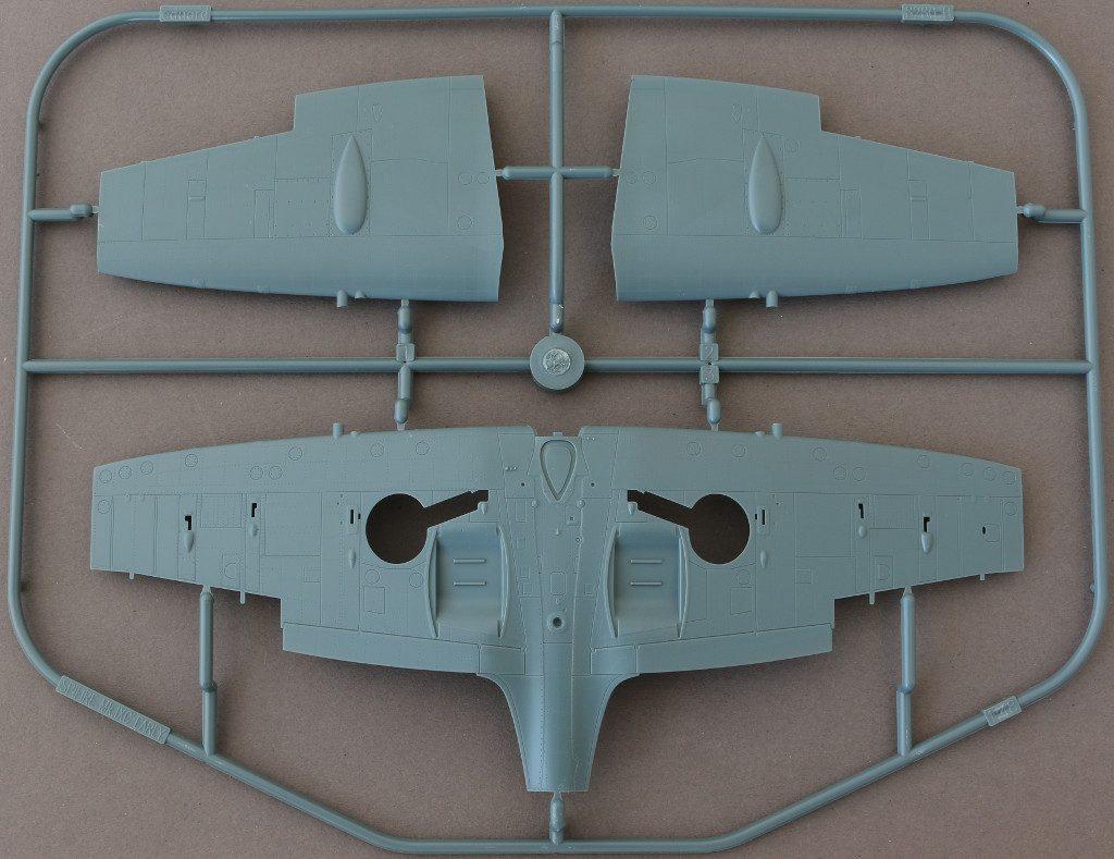 B-1024x789 Spitfire Mk. IXc (early version) Eduard ProfiPACK 1:48 (#8282)
