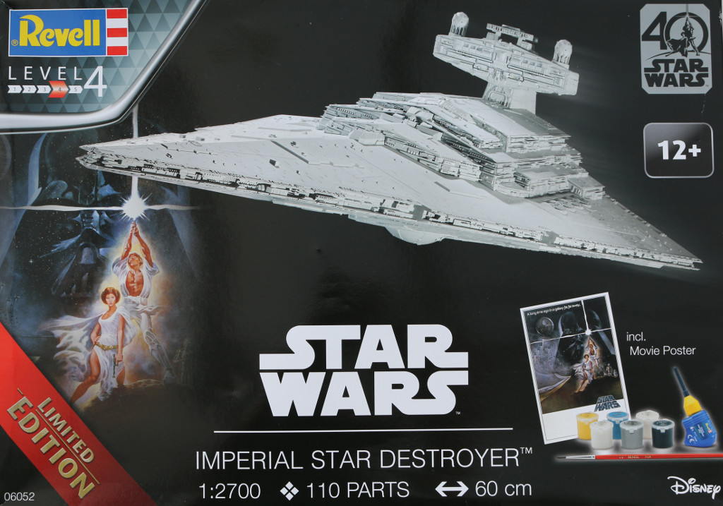 Box-1 Imperial Star Destroyer Revell 1:2700 (#06052)