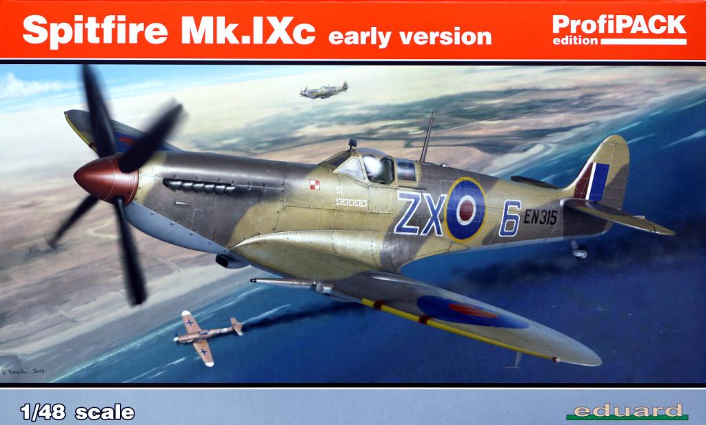 Box Spitfire Mk. IXc (early version) Eduard ProfiPACK 1:48 (#8282)