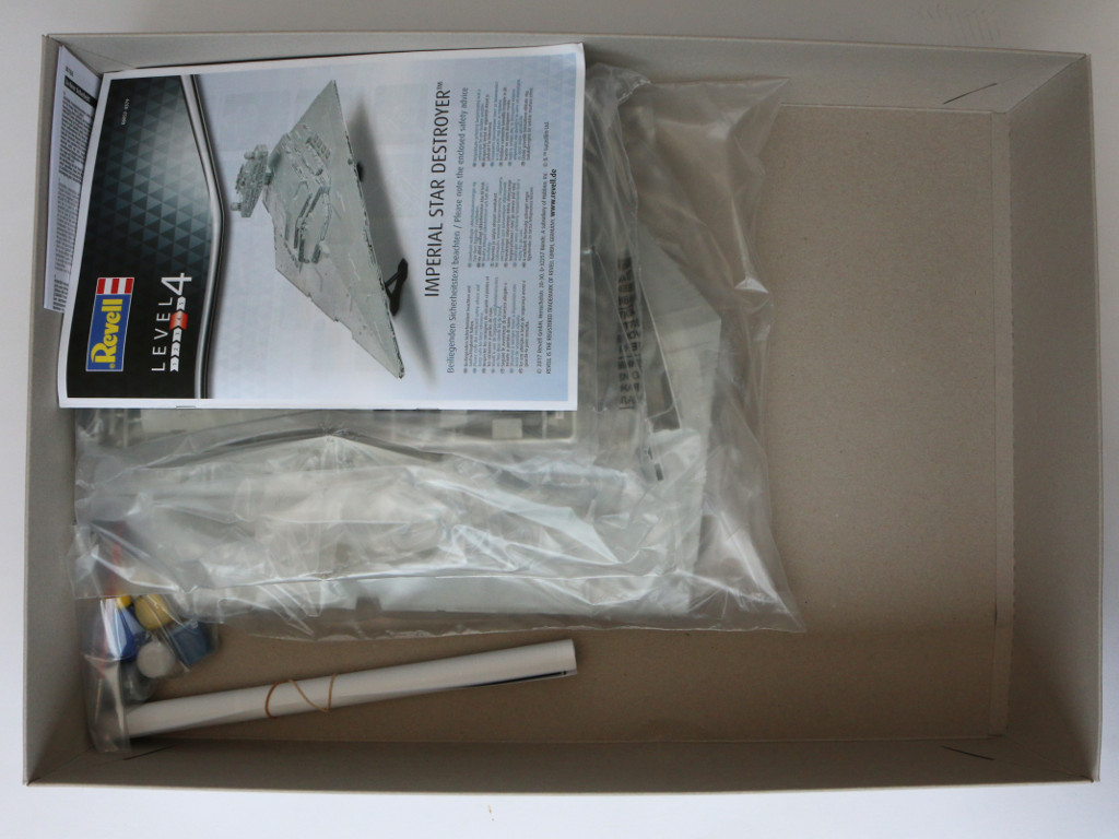 Box2 Imperial Star Destroyer Revell 1:2700 (#06052)